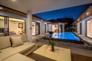 Sunway Villa B2_pool and sala eve_1